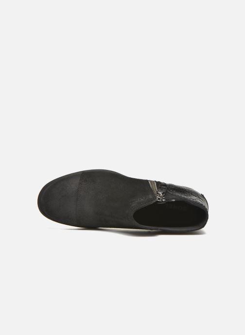 Boots en enkellaarsjes Sorel Sorel Major Low Zwart links