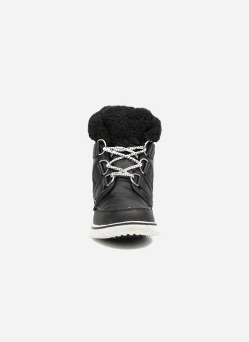 Ankle boots Sorel Cozy Carnival Black model view