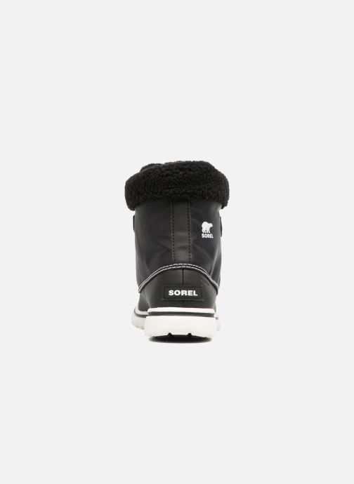 Ankle boots Sorel Cozy Carnival Black view from the right