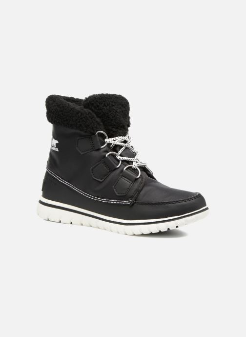 Ankle boots Sorel Cozy Carnival Black detailed view/ Pair view
