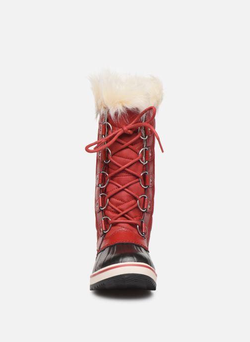 Bottines et boots Sorel Tofino II Rouge vue portées chaussures