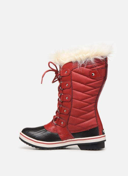 Bottines et boots Sorel Tofino II Rouge vue face