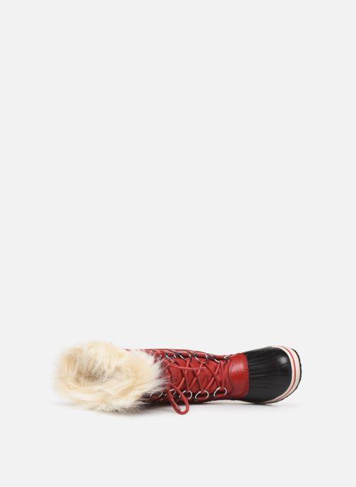 Bottines et boots Sorel Tofino II Rouge vue gauche