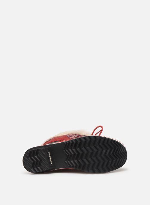 Bottines et boots Sorel Tofino II Rouge vue haut