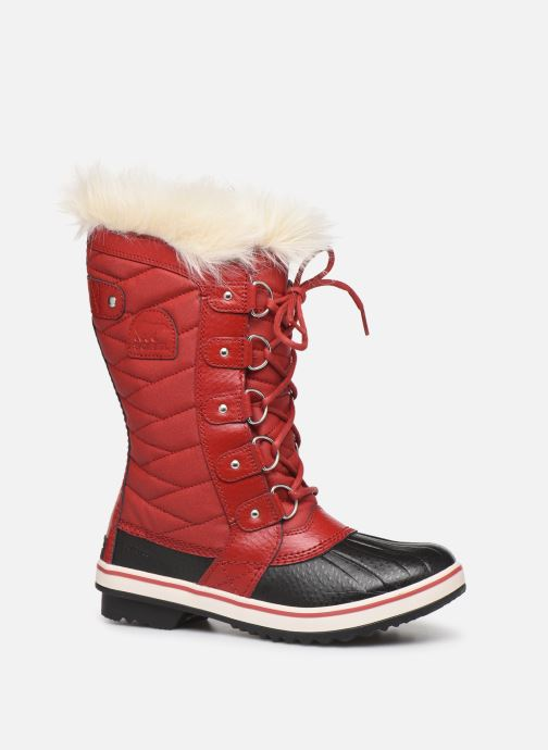 Ankle boots Sorel Tofino II Red detailed view/ Pair view