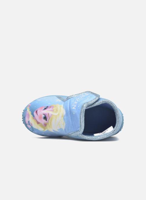 Chaussons Frozen Minora Frozen Bleu vue gauche