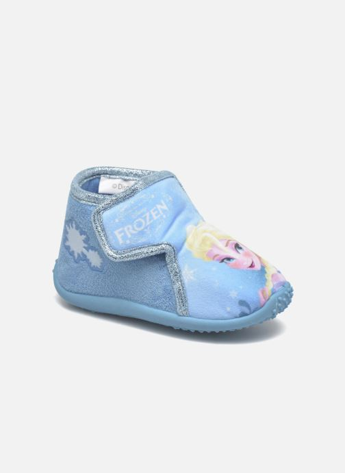 Hjemmesko Frozen Minora Frozen Blå detaljeret billede af skoene