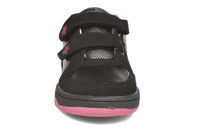 Baskets Frozen Gazave Frozen Noir vue portées chaussures