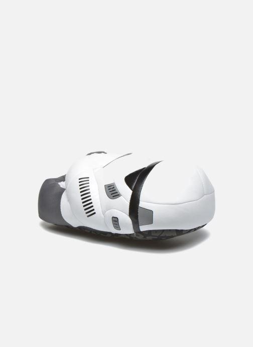 Hjemmesko Star Wars Stormtrooper Hvid detaljeret billede af skoene