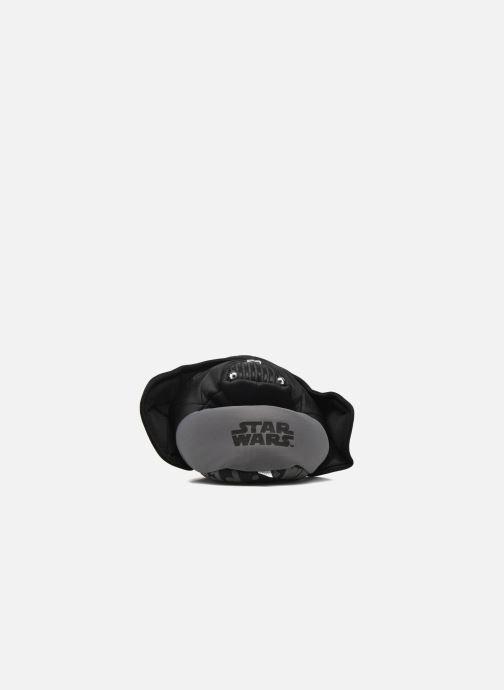 Pantuflas Star Wars Rappel Negro vista lateral derecha