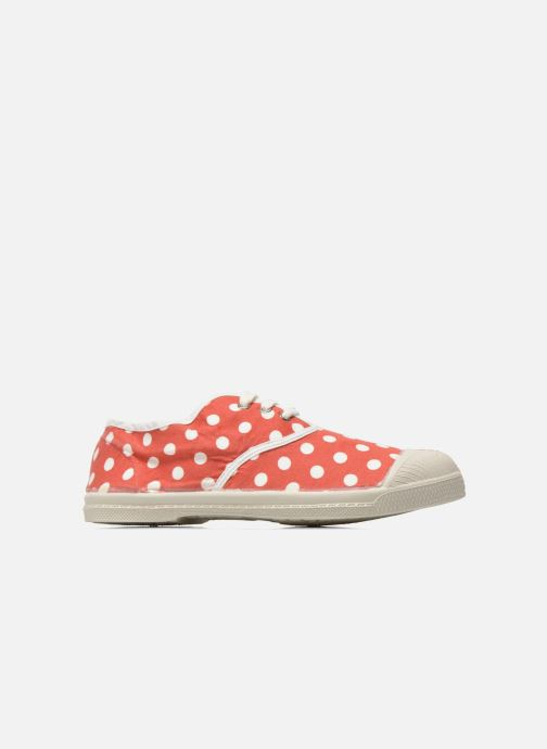 Trainers Bensimon Tennis Lacets Pois E Red back view