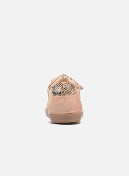Baskets Georgia Rose Ascratch Beige vue droite