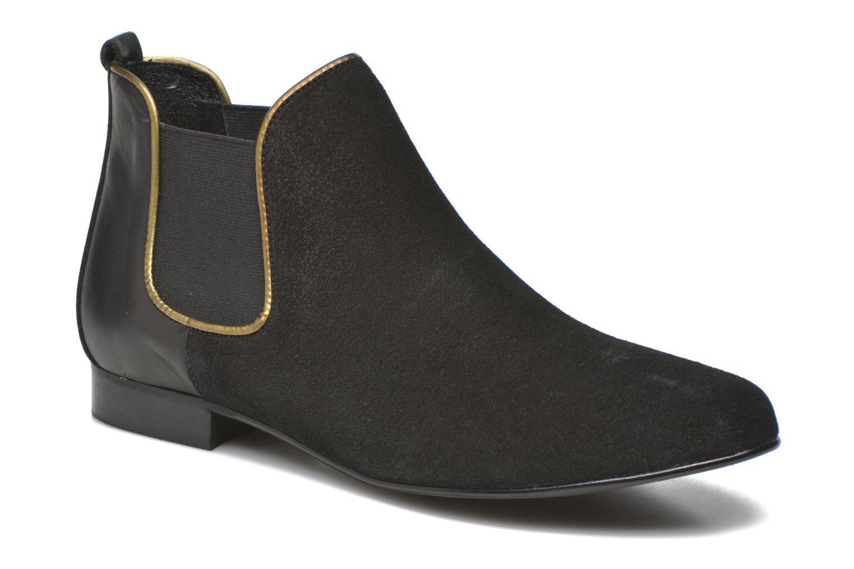 Zapatos Botines casuales salvajes  Georgia Rose Asea (Negro) - Botines Zapatos  en Más cómodo 401789