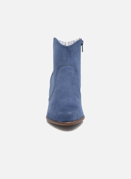 Bottines et boots S.Oliver Badda Bleu vue portées chaussures