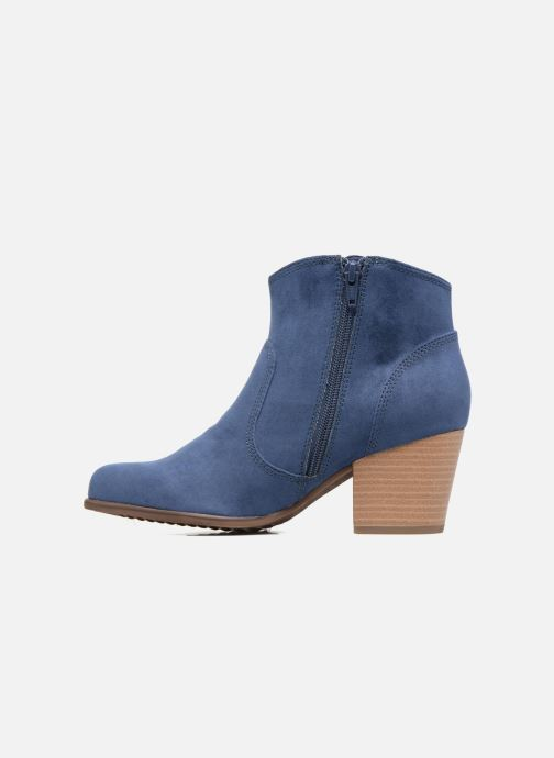 Ankle boots S.Oliver Badda Blue front view