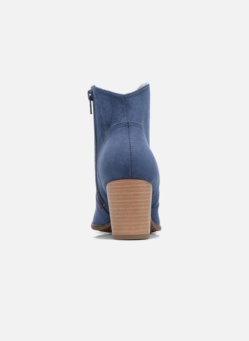 Bottines et boots S.Oliver Badda Bleu vue droite