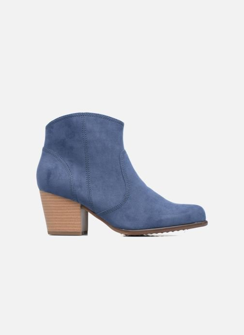 Ankle boots S.Oliver Badda Blue back view