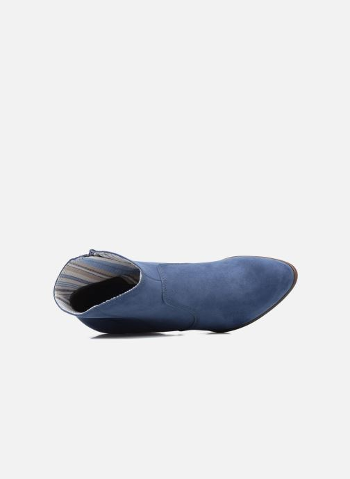 Ankle boots S.Oliver Badda Blue view from the left