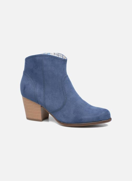 Ankle boots S.Oliver Badda Blue detailed view/ Pair view