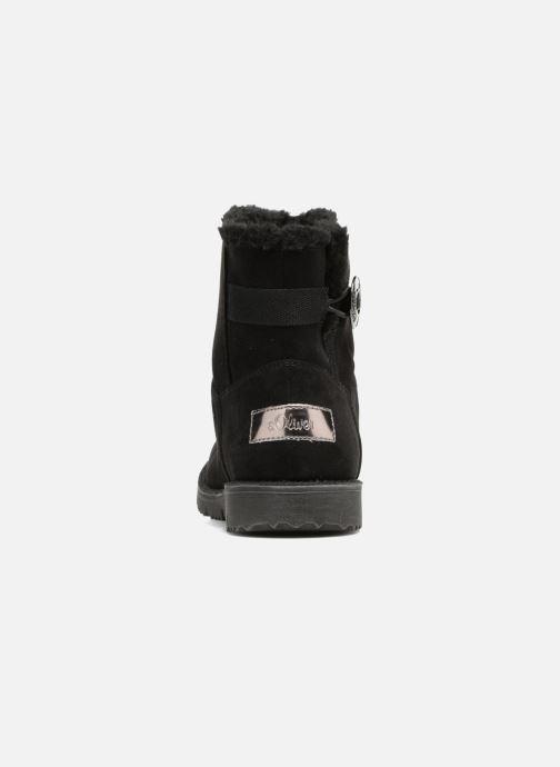 Bottines et boots S.Oliver Faki Noir vue droite