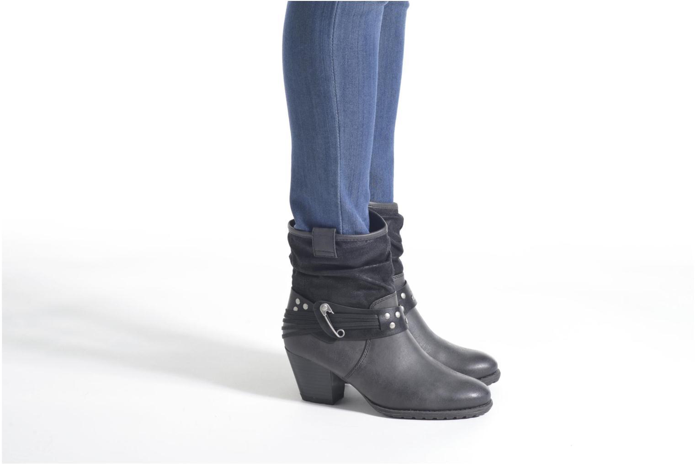 Bottines et boots S.Oliver Maalik Noir vue bas / vue portée sac