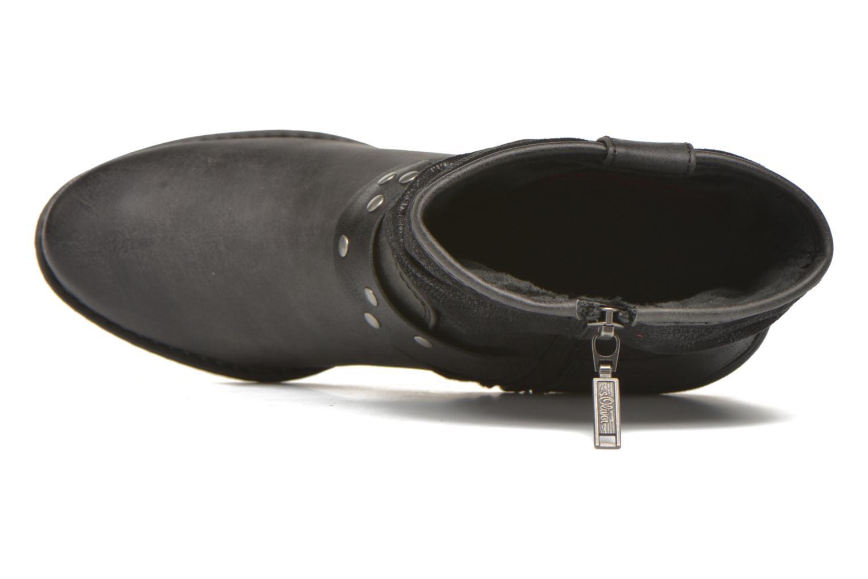 Bottines et boots S.Oliver Maalik Noir vue gauche