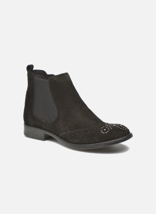 Ankelstøvler S.Oliver Macaria Sort detaljeret billede af skoene