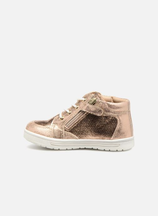 Trainers NA! Alpaga Bronze and Gold front view