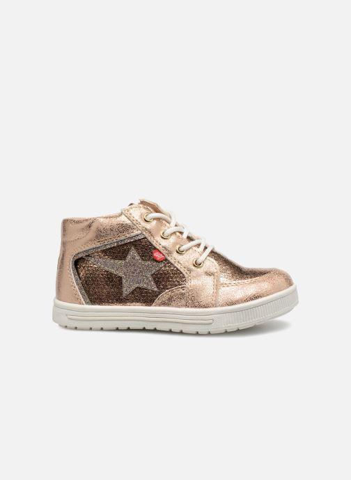 Sneakers NA! Alpaga Goud en brons achterkant