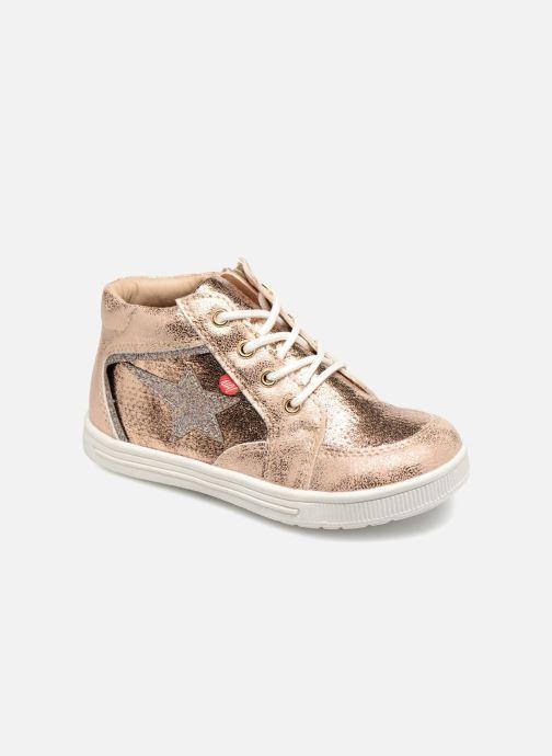 Sneakers NA! Alpaga Goud en brons detail
