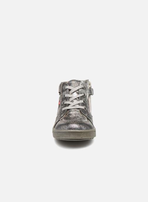 Baskets NA! Alpaga Argent vue portées chaussures