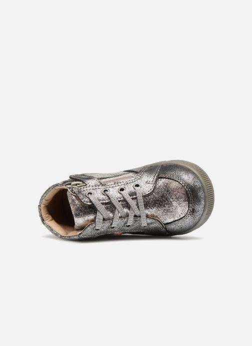 Sneakers NA! Alpaga Zilver links