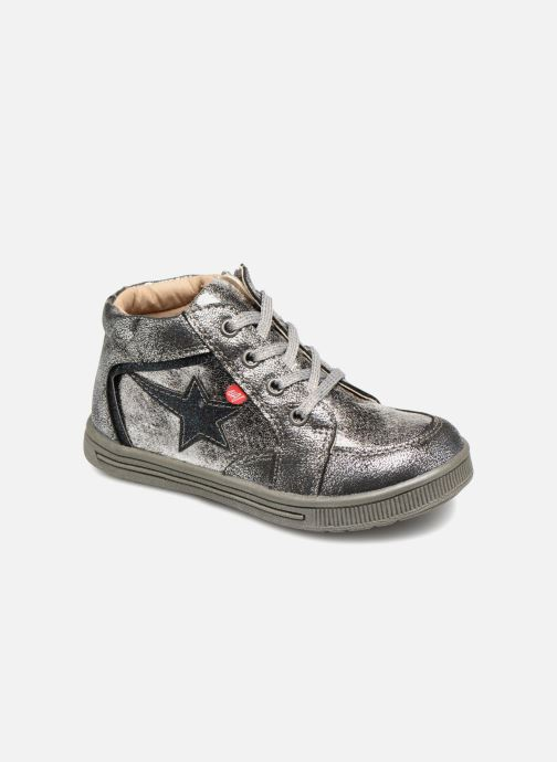 Sneakers NA! Alpaga Zilver detail