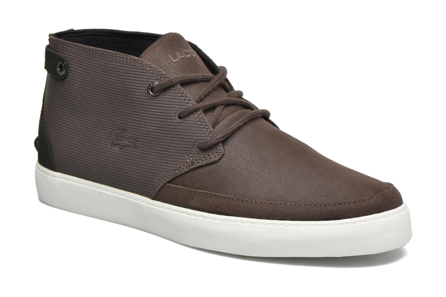 Baskets Lacoste Clavel M 316 1 Marron vue détail/paire