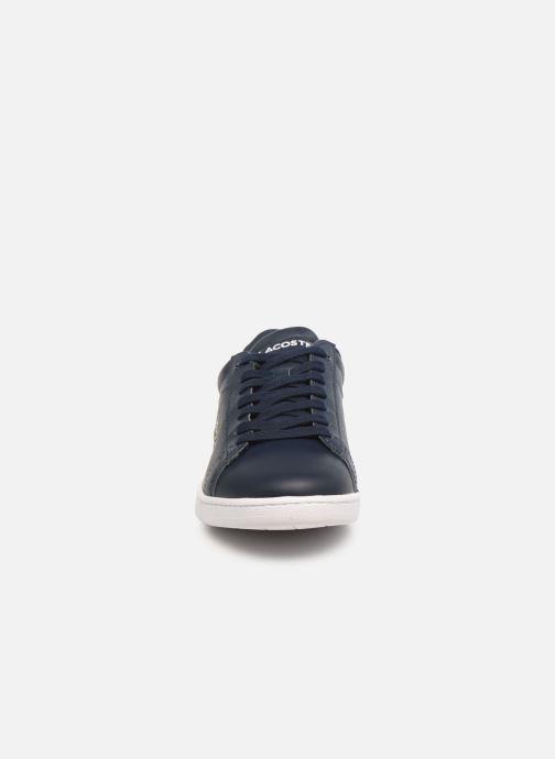 Sneaker Lacoste Carnaby Bl 1 blau schuhe getragen