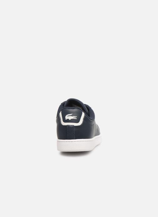 Sneaker Lacoste Carnaby Bl 1 blau ansicht von rechts