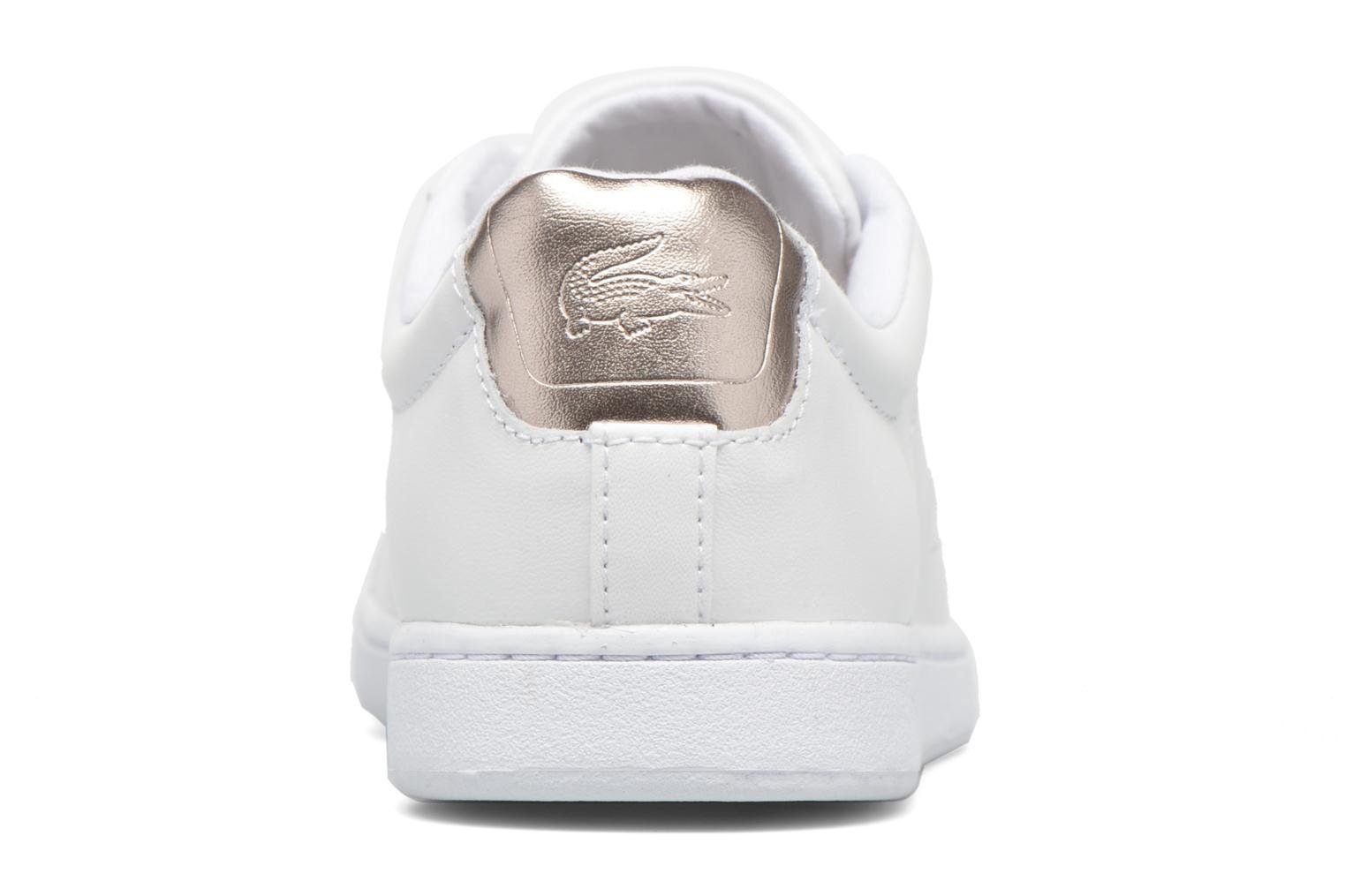 Baskets Lacoste Carnaby Evo 316 1 Blanc vue droite