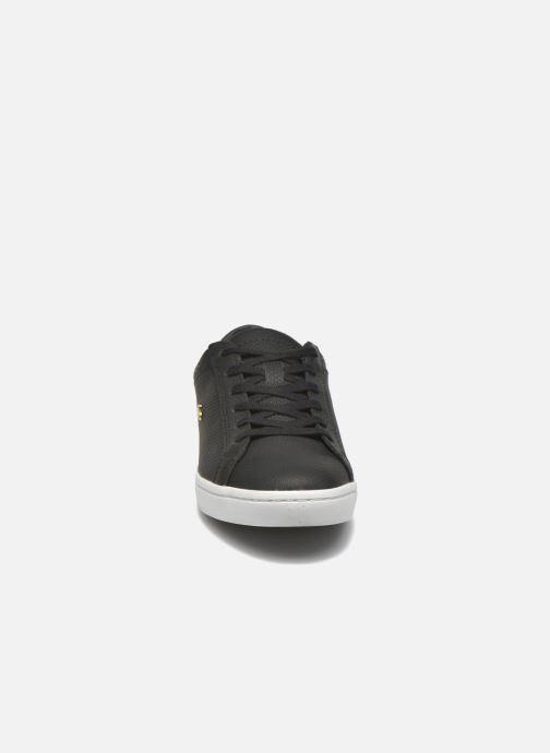 Lacoste Straightset 316 3 (Zwart) - Sneakers chez Sarenza (266583) e9c6534071