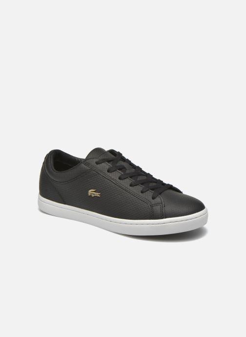 ... Merken · Damesschoenen · Lacoste Dames  Straightset 316 3. Sneakers  Lacoste Straightset 316 3 Zwart detail 859b6f2378