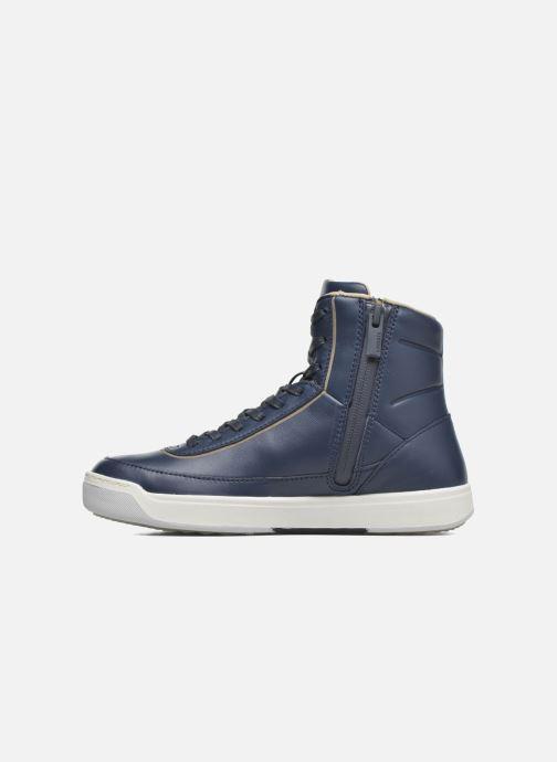 Sneakers Lacoste Explorateur Calf 316 1 Blauw voorkant