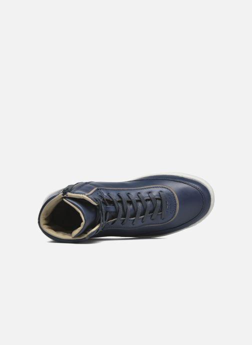 Sneakers Lacoste Explorateur Calf 316 1 Azzurro immagine sinistra