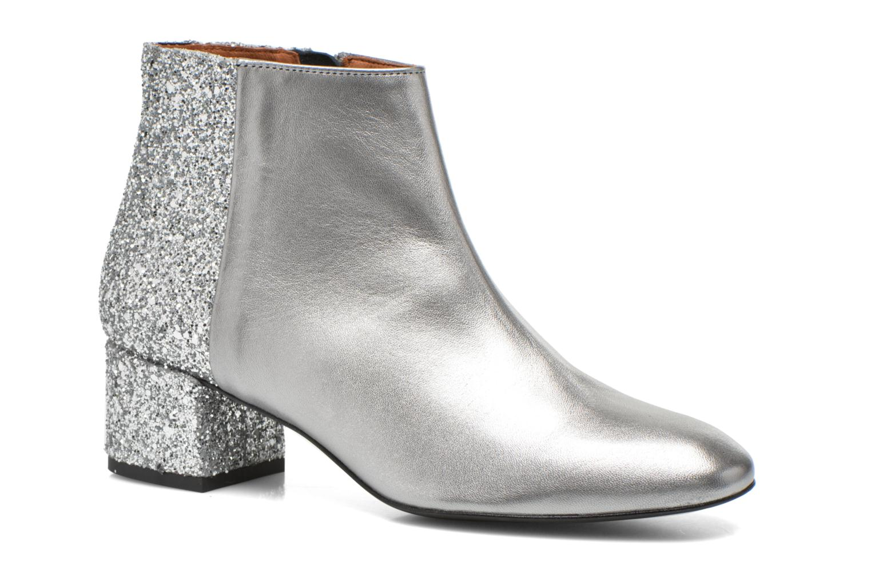 Bottines et boots Made by SARENZA Glamatomic #8 Argent vue droite