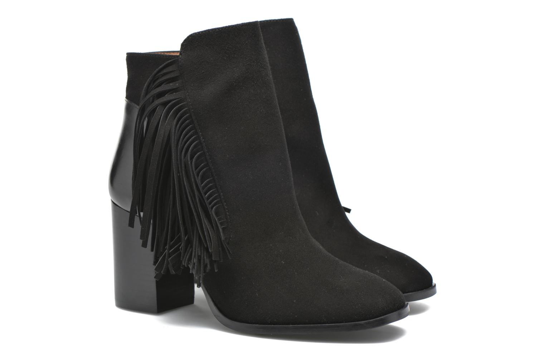 Bottines et boots Made by SARENZA See Ya Topanga #8 Noir vue derrière