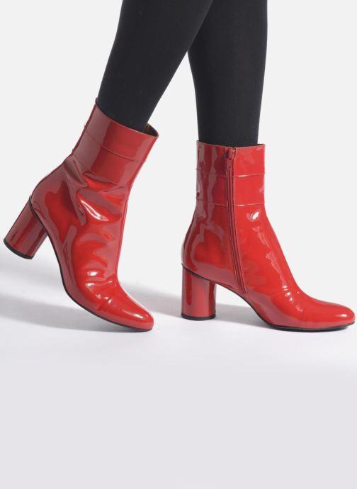 Botines  Made by SARENZA Pastel Affair Boots #2 Rojo vista de abajo