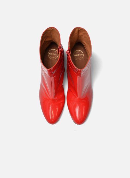 Botines  Made by SARENZA Pastel Affair Boots #2 Rojo vista del modelo