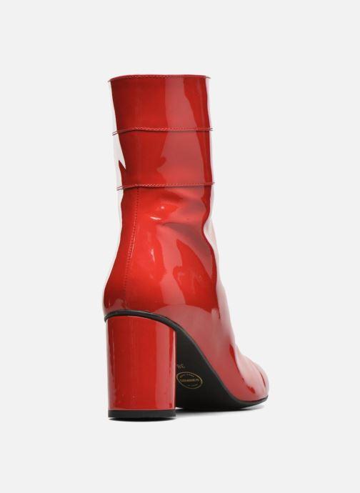 Botines  Made by SARENZA Pastel Affair Boots #2 Rojo vista de frente