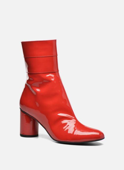 Botines  Made by SARENZA Pastel Affair Boots #2 Rojo vista lateral derecha