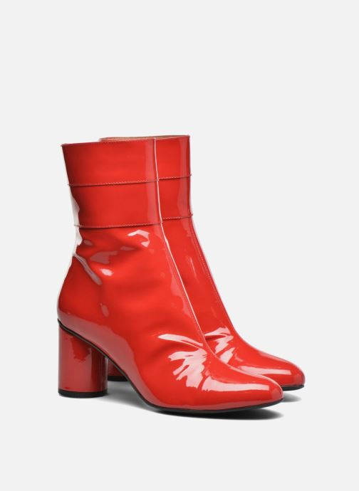 Boots en enkellaarsjes Made by SARENZA Pastel Affair Boots #2 Rood achterkant