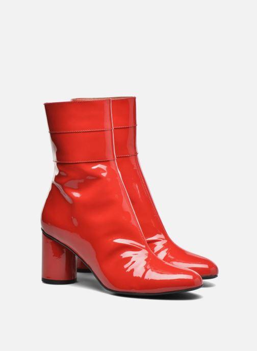 Botines  Made by SARENZA Pastel Affair Boots #2 Rojo vistra trasera