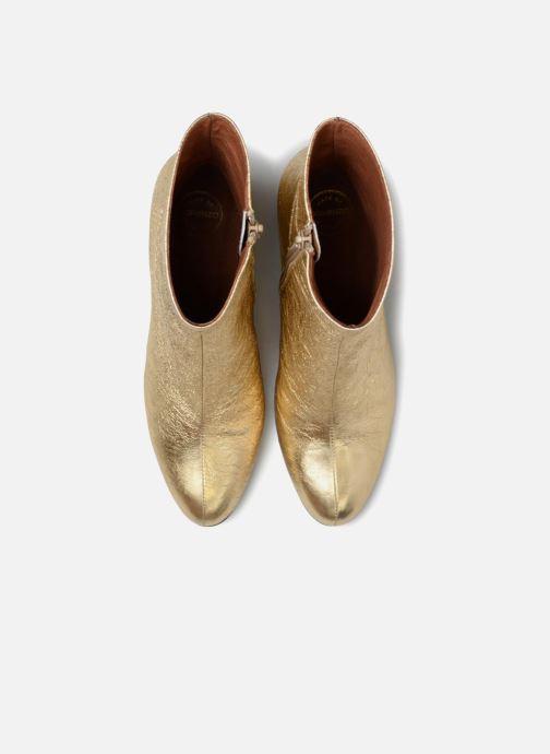 Stivaletti e tronchetti Made by SARENZA Pastel Affair Boots #2 Oro e bronzo modello indossato